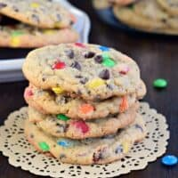 Soft and Chewy M&M's Pudding Cookies Recipe