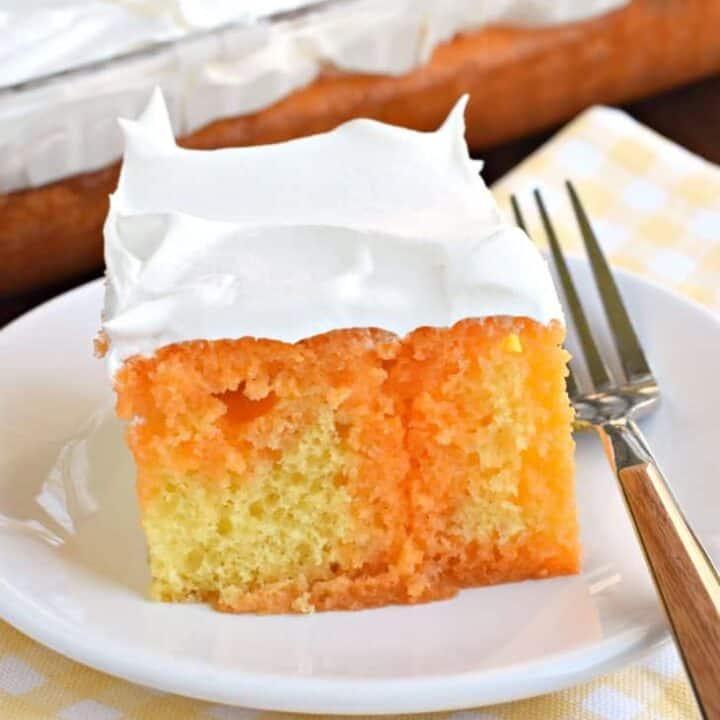 Lemon Orange JELL-O Cake