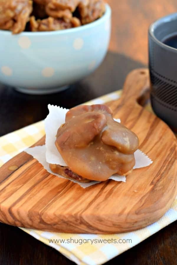 Pecan Pralines - Shugary Sweets