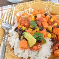 Sweet Potato Tex Mex Skillet