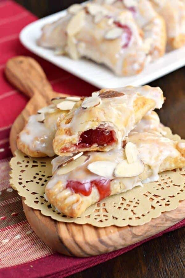 Cherry Almond Hand Pies - Shugary Sweets