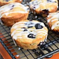 Blueberry Zucchini Muffins: easy breakfast and freezes well too!