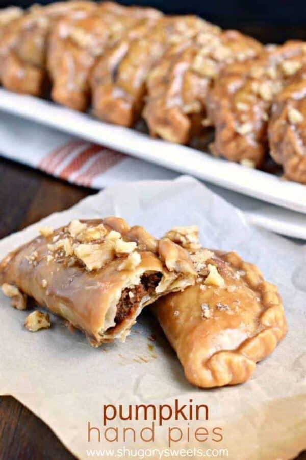 Maple Walnut Pumpkin Pie Recipe — Dishmaps