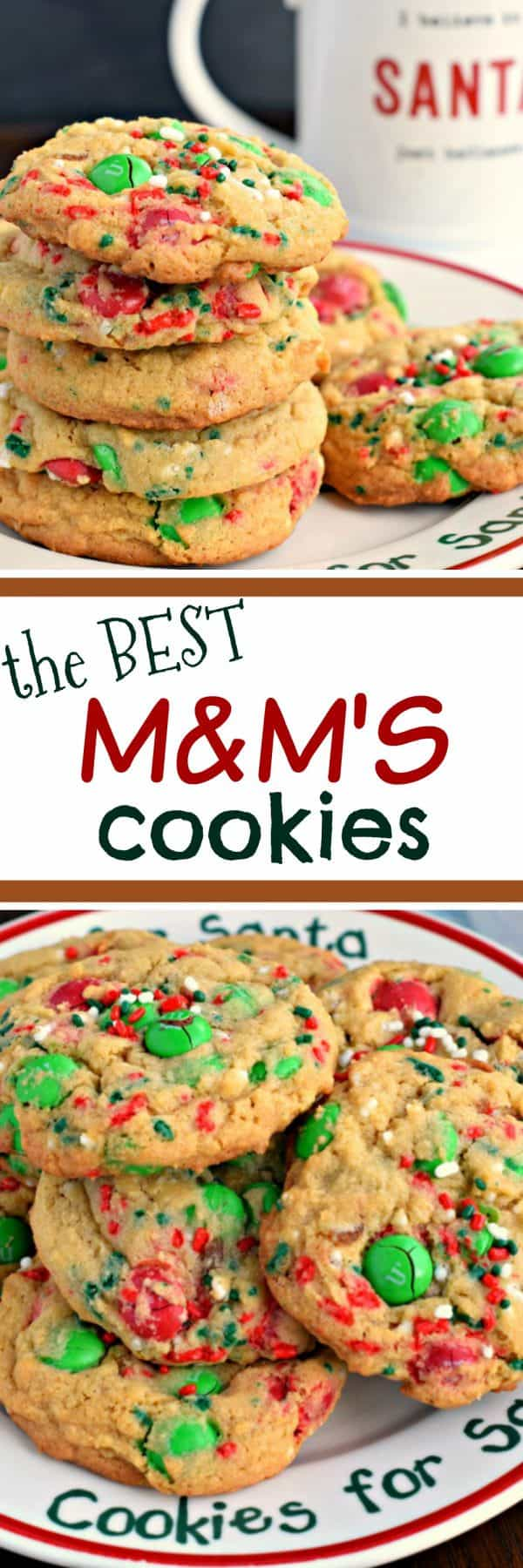 If you're looking for The Best M&M's Cookies, you've arrived! The secret to soft, chewy cookies is pudding mix!