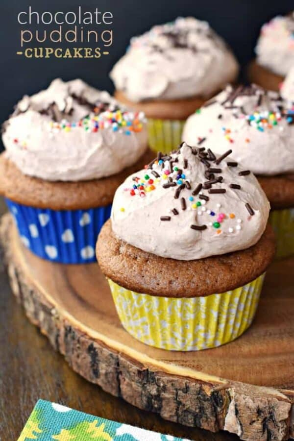 Chocolate Pudding Cupcakes: so moist and delicious you won't know they started from a boxed mix!