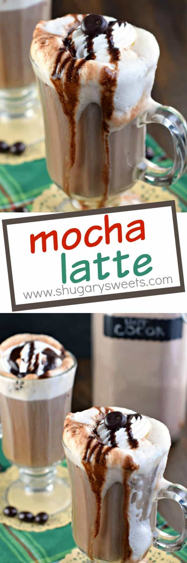 Do you love a hot, creamy Mocha Latte? Well, guess what? You can now make them at home, with no espresso machine needed!!!