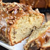 Praline Topped Apple Bread