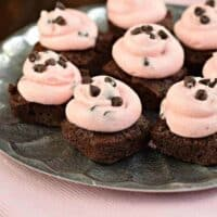 Cherry Chip Brownies