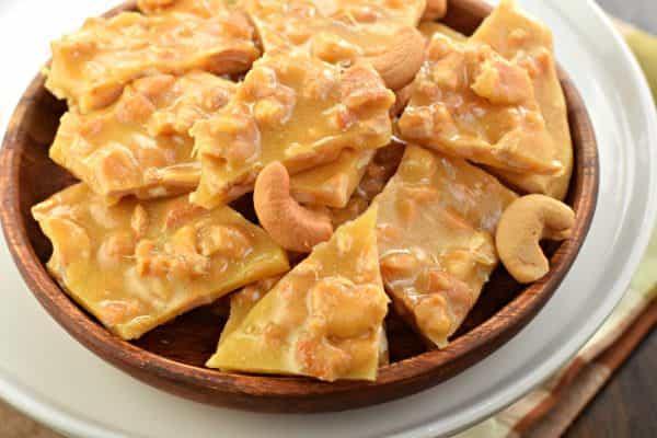 Cashew Brittle - Shugary Sweets