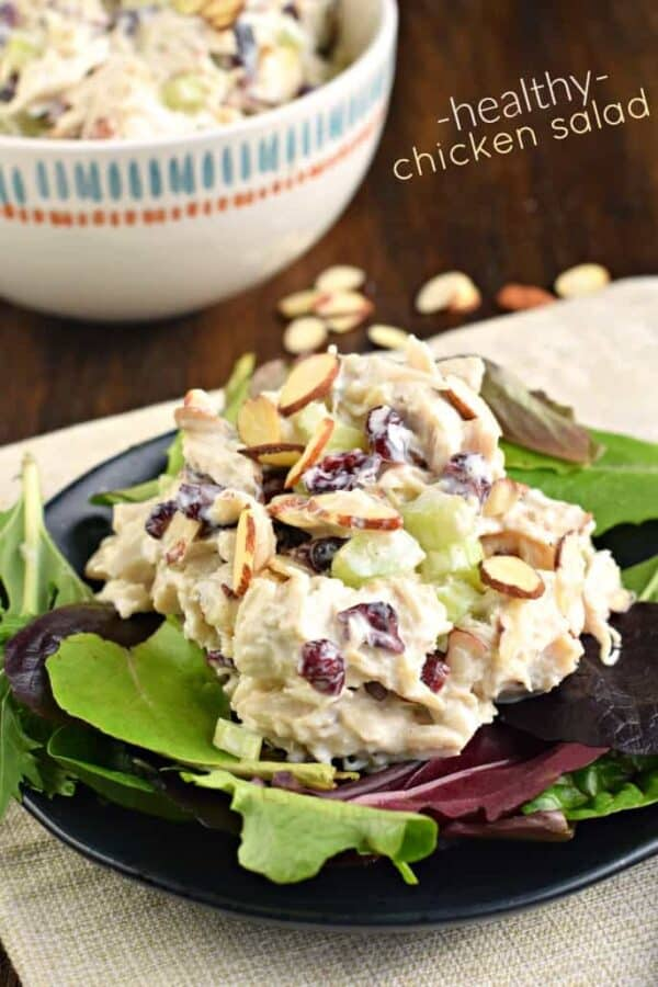 Healthy Chicken Salad Shugary Sweets