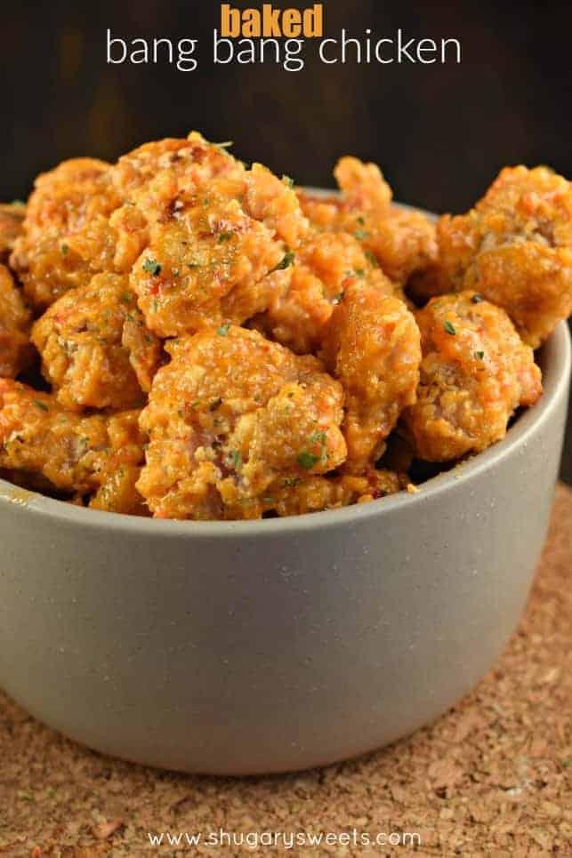 Bang Bang Chicken - Shugary Sweets