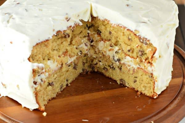 A southern treat: Italian Cream Cake with coconut and pecans!