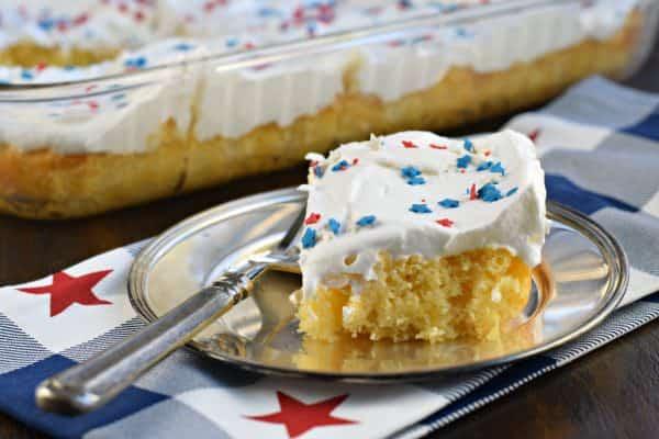 3 ingredient Skinny Pineapple Cake recipe!