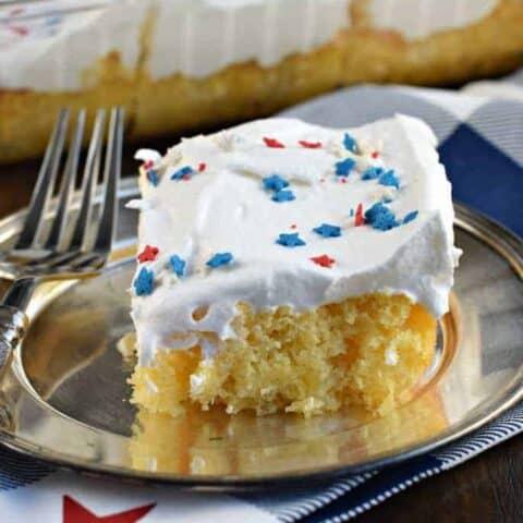 Skinny Pineapple Cake