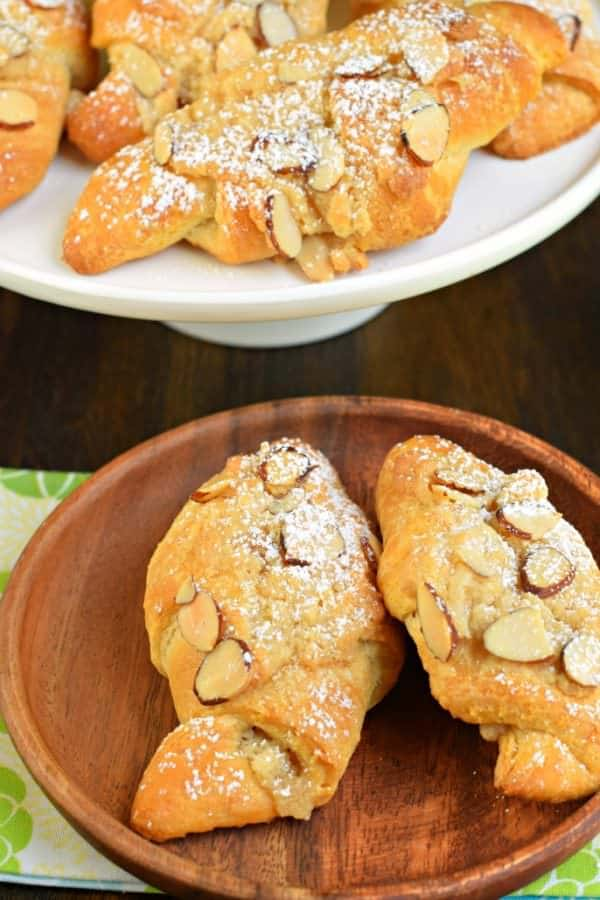 Almond Croissants from Shugary Sweets