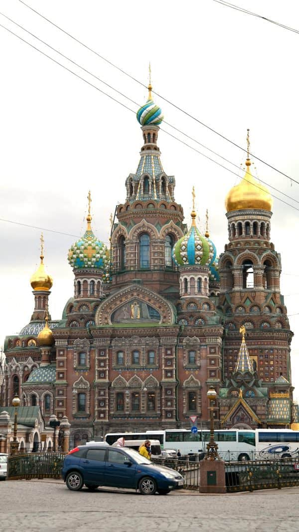 Church of the Savior on the Spilled Blood, St. Petersburg, Russia