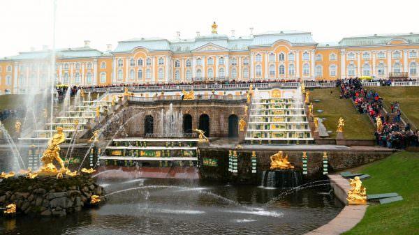 Peterhof Palace, St.Petersburg Russia