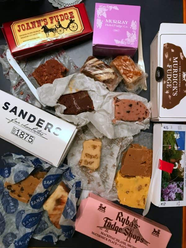 Fudge from Mackinac Island, Michigan