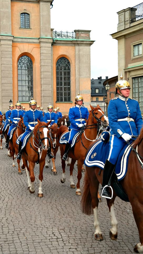 Stockholm, Sweden....Royal Palace, changing of the guard