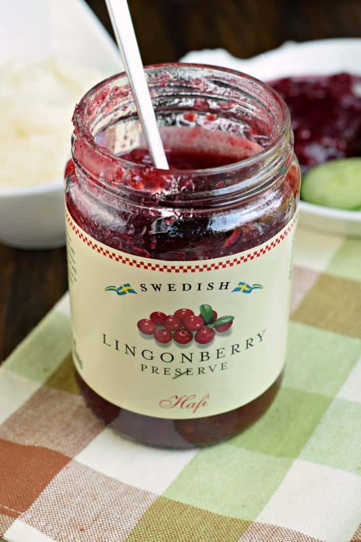 Swedish Lingonberry Preserve