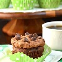 Chocolate Chip Zucchini Cupcakes