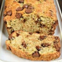 Freezer Friendly Chocolate Chip Zucchini Bread