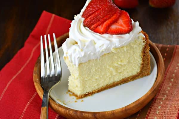 If You Re Hoping To Make The Perfect Vanilla Cheesecake Recipe Start With My