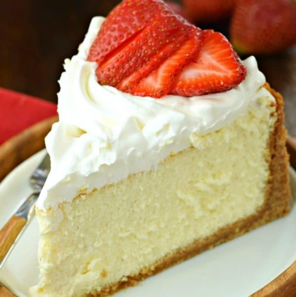 Perfect Vanilla Cheesecake Shugary Sweets
