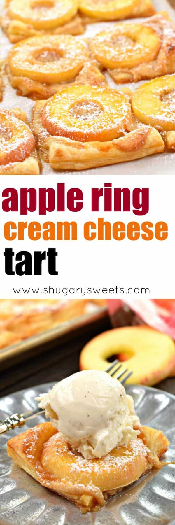 This Apple Cream Cheese Tart highlights the flavors of the holidays with an enticing combination of apples, nutmeg, and rum extract! Impressive to look at, easy to make!