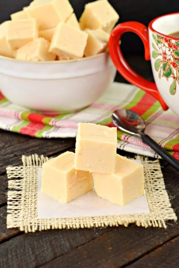 Butter Rum Fudge recipe #candy #christmas #homemade #holiday #fudge #recipe