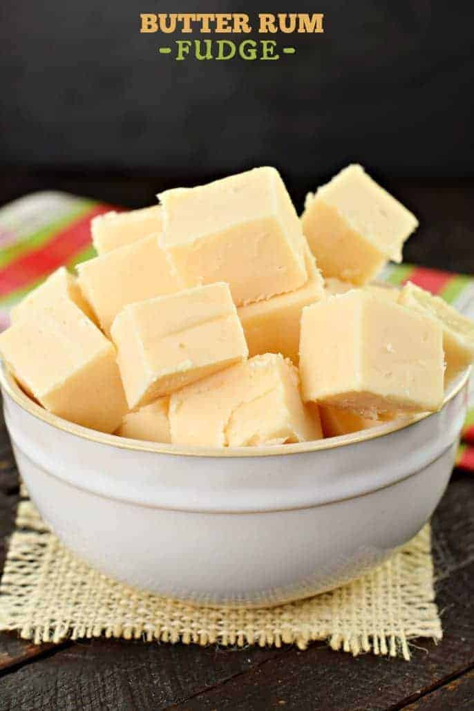 This easy Butter Rum Fudge recipe is packed with flavor! Your family and friends will think you slaved in the kitchen making this special treat!