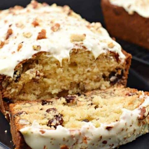 White Chocolate Cranberry Pecan Bread