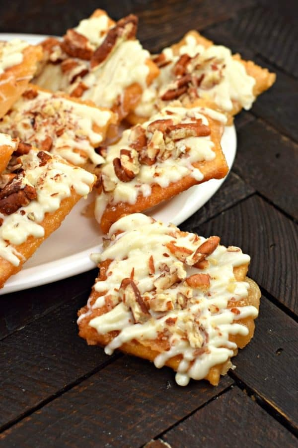 White Chocolate Pecan Toffee Shugary Sweets