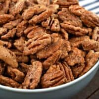 Maple Brown Sugar Pecans