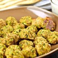 """Greek Zucchini """"Meatballs"""""""