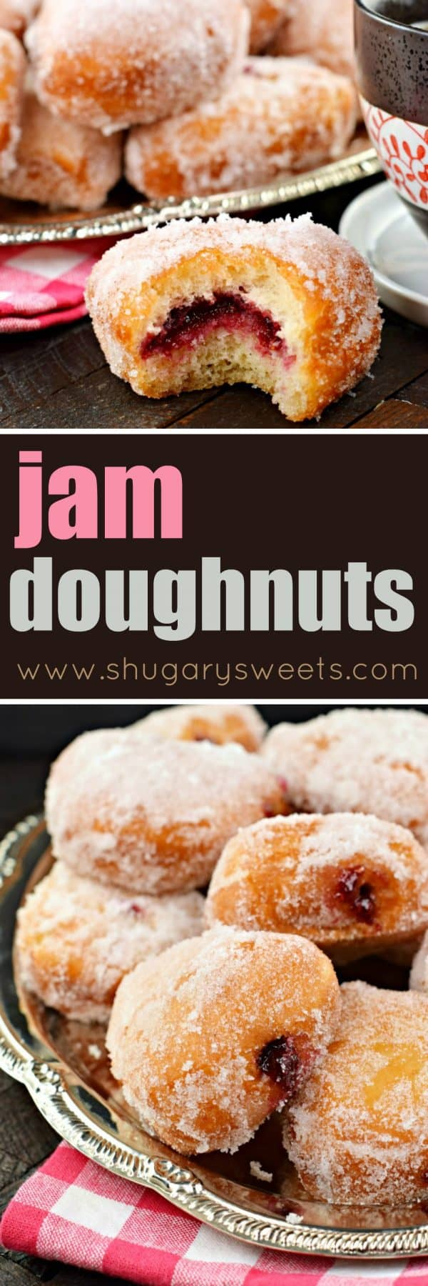Jam filled Doughnuts #breakfast #doughnuts #donuts #princesscruises #ad #pastries #fromscratch #bakingrecipes