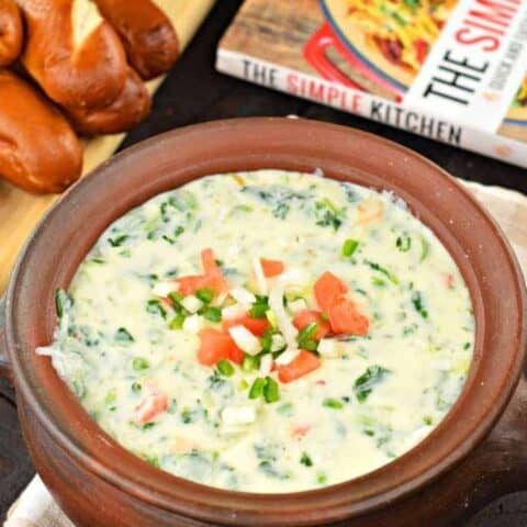 Jalapeno Spinach Queso