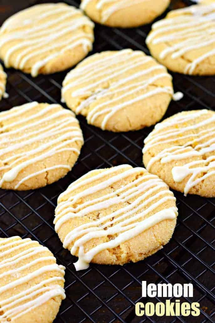 Imagine if a snickerdoodle cookie combined with a lemon. That's what these soft and chewy Lemon Crinkle Cookies taste like! The perfect flavor combination!