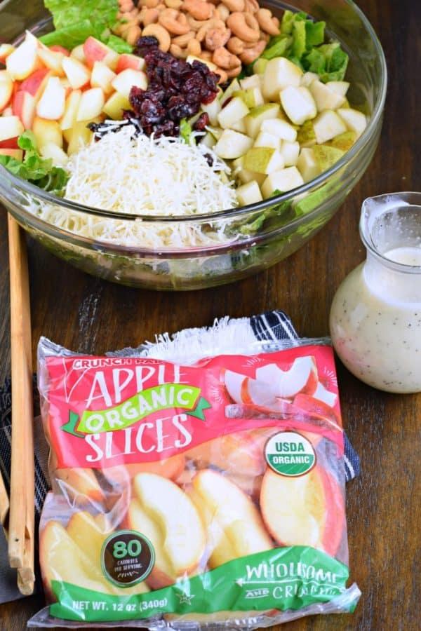 Crunch Pak apple Harvest Salad recipe
