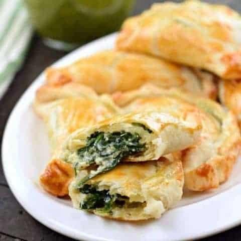 Spinach and Ricotta Empanadas