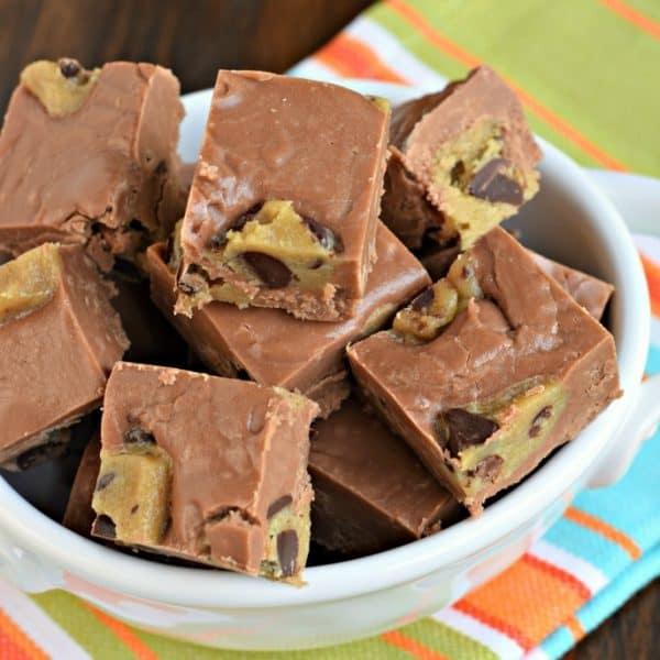 Chocolate Cookie Dough Fudge Recipe