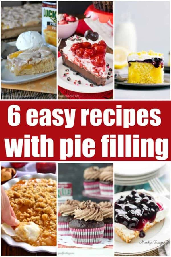 6 Easy recipes with Pie Filling: delicious desserts made easy!