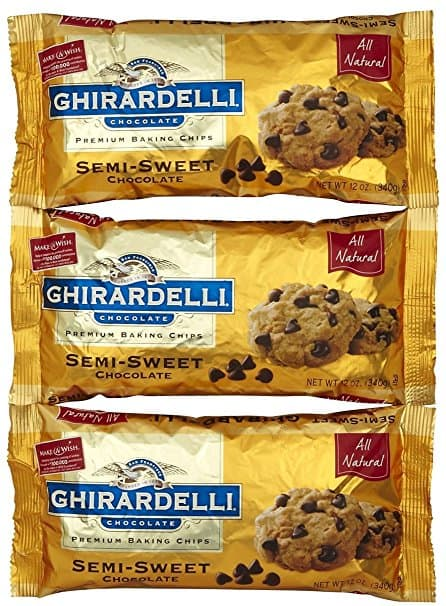 Ghirardelli Semi-Sweet Chocolate Chips - 12 oz - 3 pk