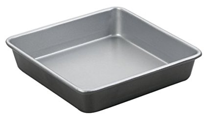 Cuisinart AMB-9SCK 9-Inch Chef's Classic Nonstick Bakeware Square Cake Pan, Silver