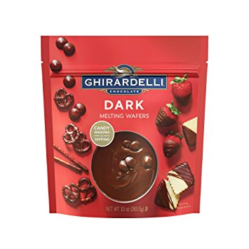 Ghirardelli Chocolate Dark Melting Wafers - 10oz