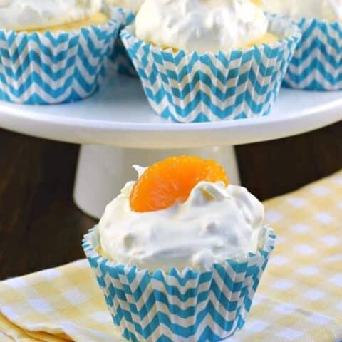 Pineapple Orange Cupcakes