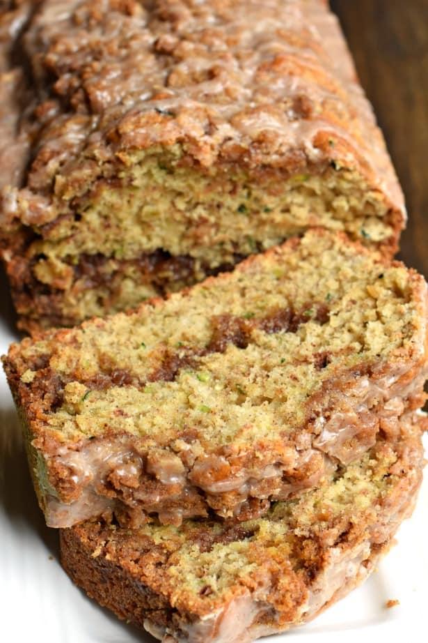 Cinnamon Swirl Zucchini Bread recipe
