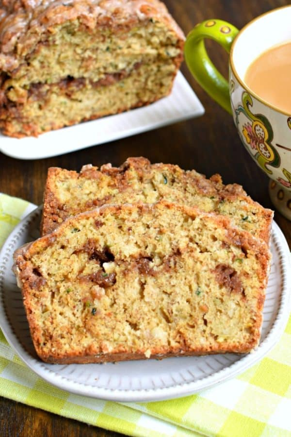 Coffee Cake Zucchini Bread recipe