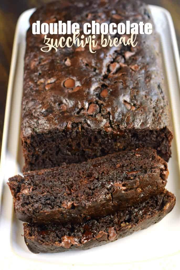 Best Ever Double Chocolate Zucchini Bread Recipe