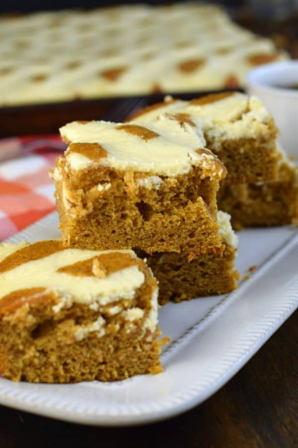 Moist and flavorful Pumpkin Cheesecake Bars recipe